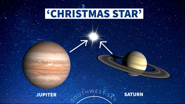 Christmas Star Appeared Monday, Winter Solstice Began