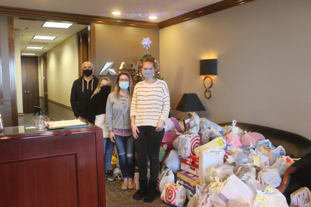 ADAMS Employees Donate Beef And Over 360 Gifts To Local Families
