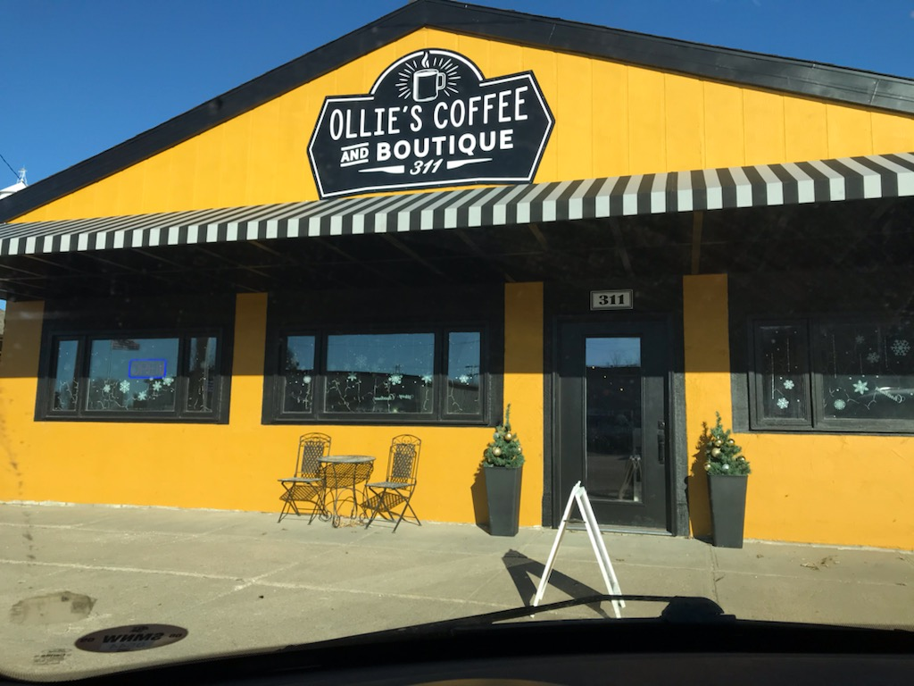 Ollie's Coffee Shop & Boutique in Sargent Open for Business