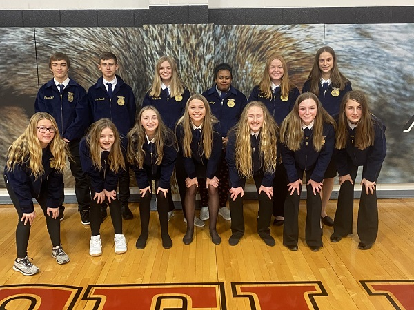 A-M FFA Chapter Awards Jackets To New Active Members