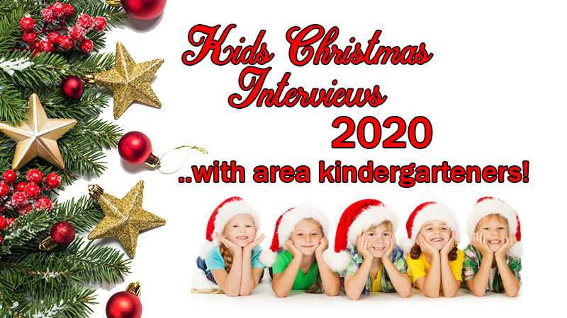Listen to the Kids Christmas Interviews of 2020 here!