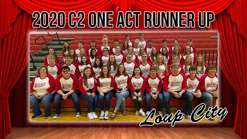 Loup City Finishes Runner-Up At The Class C2 NSAA Play Production State Championships