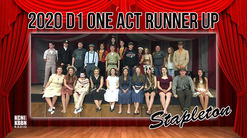 Stapleton Finishes Runner-Up In Class D1 At The NSAA Play Production Championships