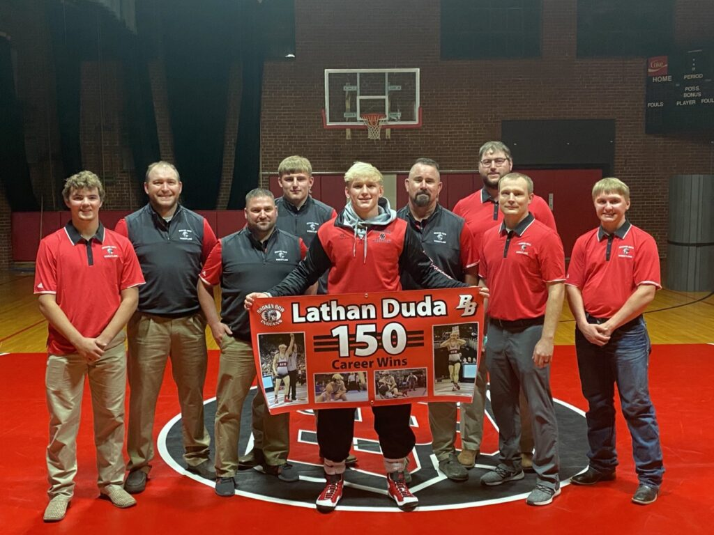 Broken Bow Wrestling Tri with ALC and Wood River – Results
