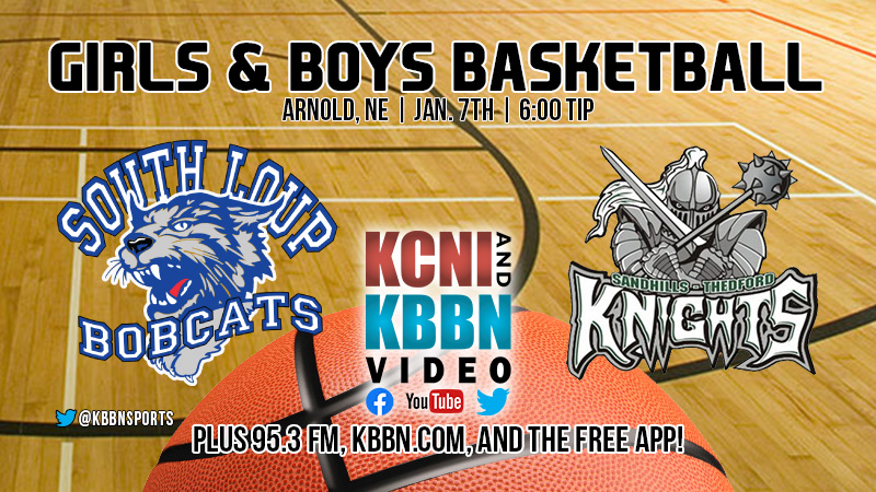 High School Basketball – Sandhills/Thedford vs South Loup on KBBN / Live Video Stream