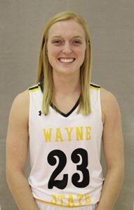 Wayne State Women Split Road Weekend, Busse Moves Past 1,000 Career Points