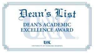 UNK Announces Dean's List For Fall 2020 Semester