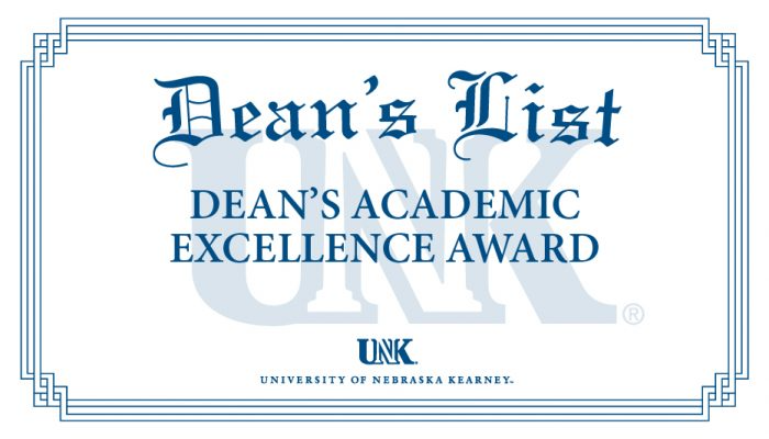 UNK Announces Dean's List For Fall 2020 Semester