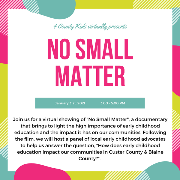 4 County Kids Hosting Free Documentary Viewing And Virtual Panel Discussion Sunday