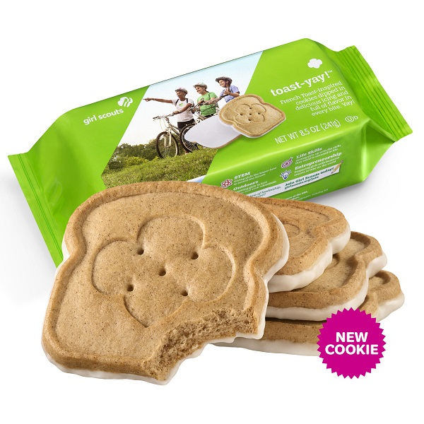 Girl Scout Cookie Sales Will Be Virtual/In-Person Beginning Feb. 12; S'mores Cookie To Be Retired
