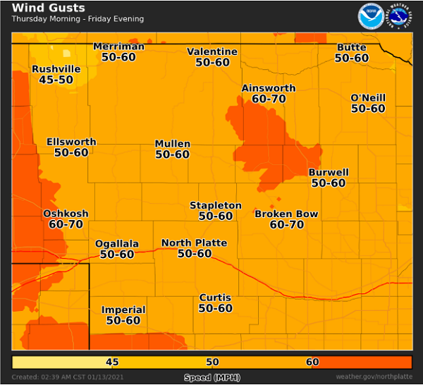 Windy & much cooler on Thursday for Southern Colorado