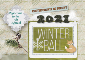 Custer County Ag Society Winter Ball January 30, Tickets Are Available!