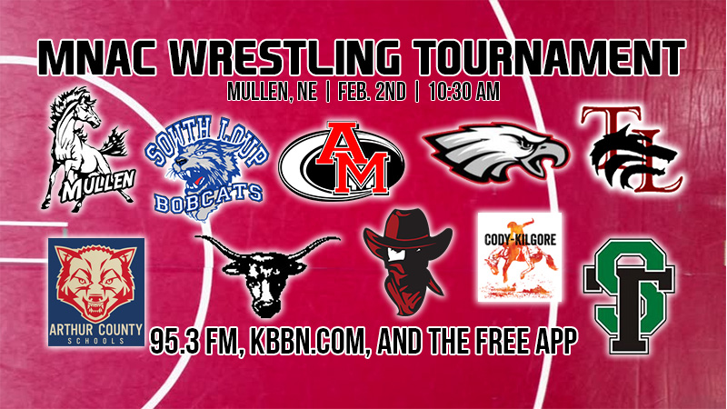 MNAC Wrestling Tournament Today on KBBN