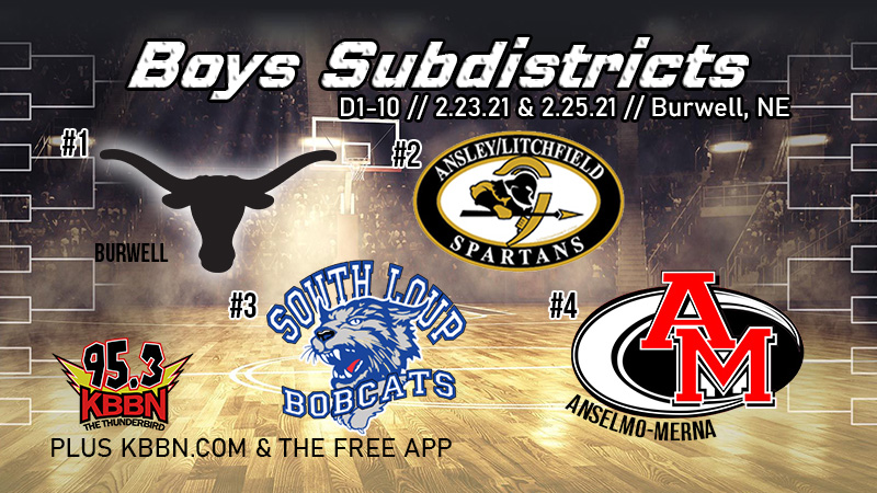 Boys Sub District Finals – D1-10 Burwell vs Ansley/Litchfield on KBBN