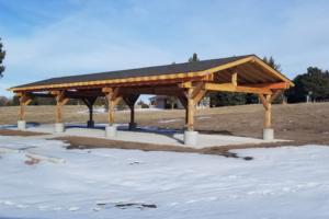 New Shelter Constructed At Merritt Reservoir
