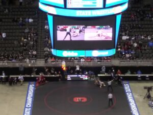 Lathan Duda of Broken Bow - Class B 195 lb. State Wrestling Champion!!