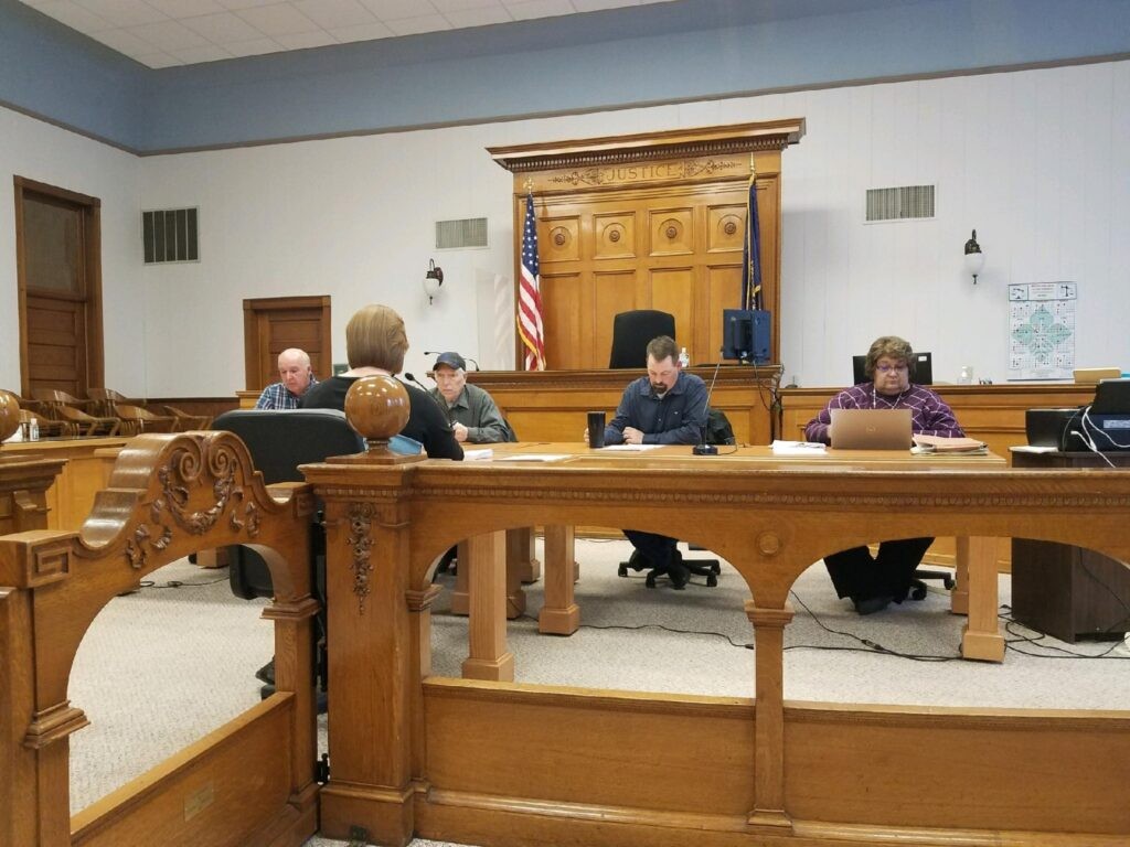 Commissioners Approve Motor Grader, One And Six Year Road Improvement Plan Provided