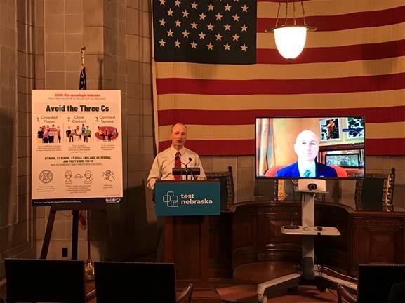 Governor Ricketts To Quarantine, WellPower Challenge Began Monday