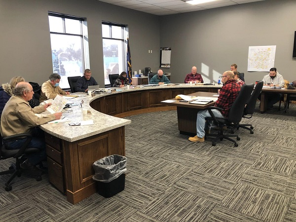 County Hwy. Dept. One And Six Year Plan Approved; Letters To Be Sent To Legislature