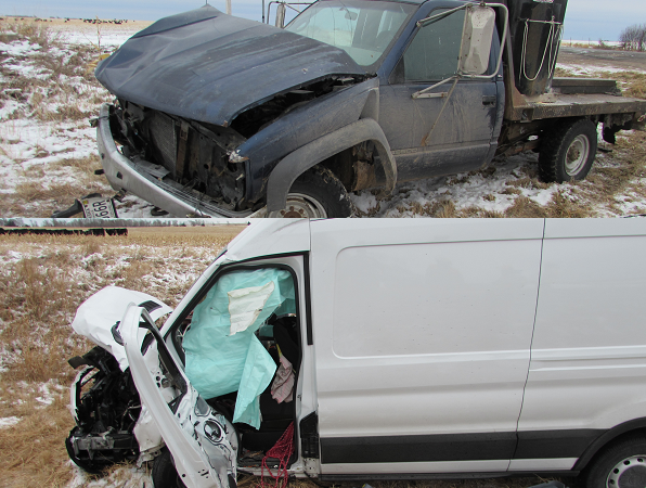 Two-Vehicle Accident Sends Three To The Hospital On January 23