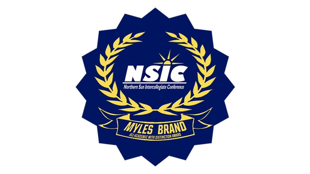 NSIC Myles Brand All-Academic With Distinction Award Announced