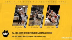 Norling Named South Division Player Of The Year, Busse Earned Second Team All-Conference Honors