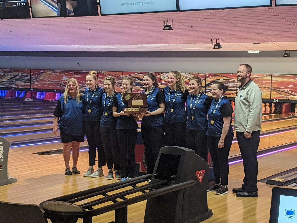 Blue Devil Girls Crowned InaguralNSAA State Bowling Champions