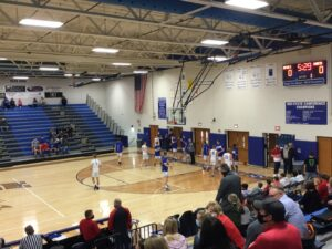 Blue Devil Boys Erupt For 35 Second Half Points, Cadets Drop 10th Game By Five Points Or Less