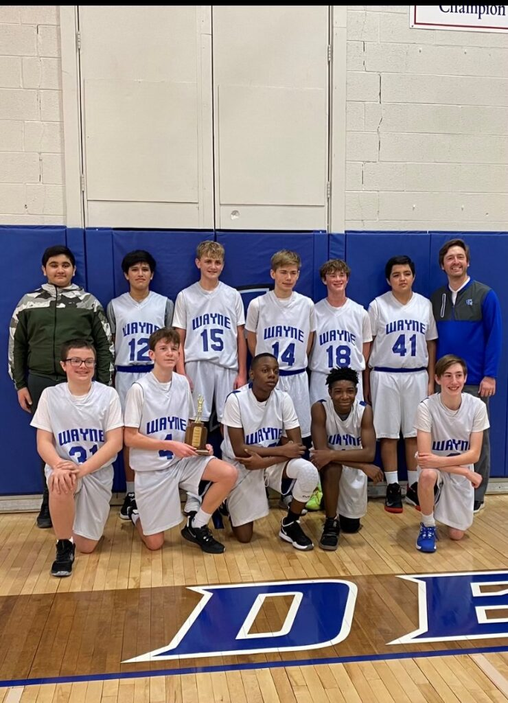 Wayne Eighth Grade Boys Win Home Tourney, Seventh Graders Place Runner-up