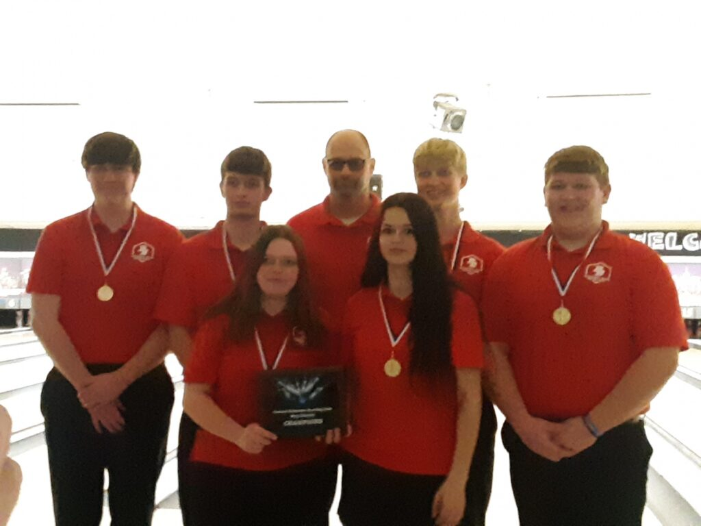 Broken Bow Bowling Team District Champs and Headed to State