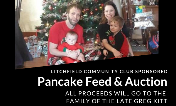 Kitt Family Pancake Feed And Auction Sunday, March 21
