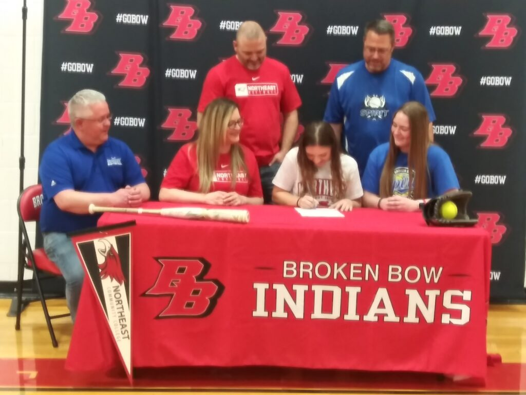 Nikki Peters Signs to Play Softball for Northeast CC