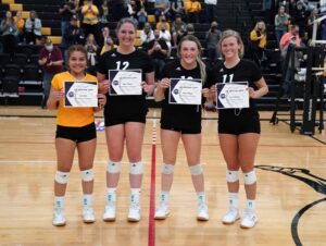 NPCC Volleyball Team Coach and Players Receive All Region Honors
