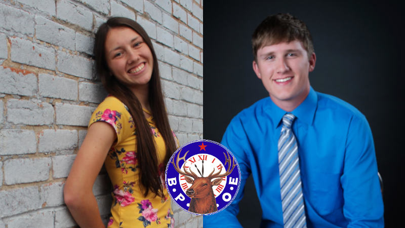Ansley Students Selected As Part Of Broken Bow Elks Lodge Student Spotlight