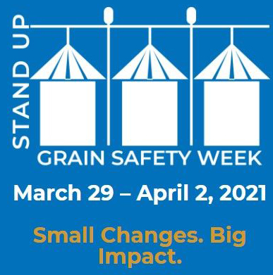"""Nebraska's Corn, Soybean, Wheat, & Sorghum Checkoffs Reminding Farmers About Grain Bin Safety During """"Stand Up 4 Grain Safety Week"""""""
