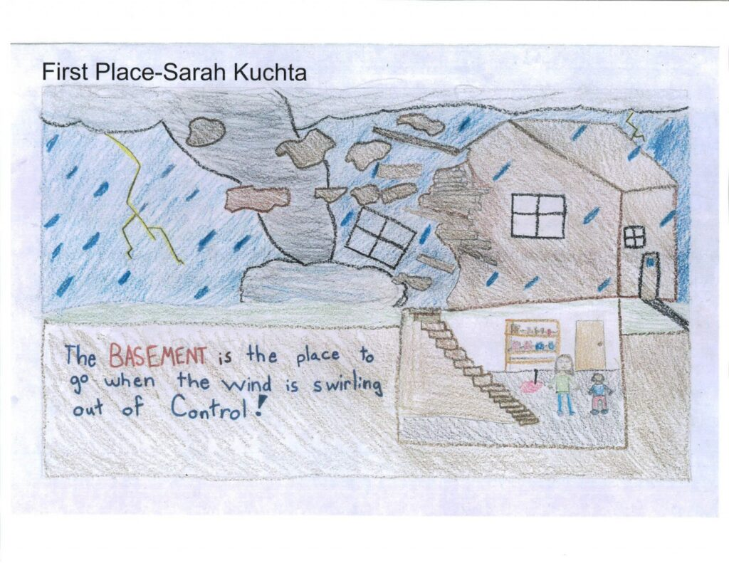 Wayne Elementary Student Wins Severe Weather Awareness Week Poster Contest