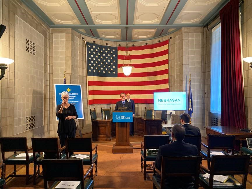 Nebraska COVID Update, Car Day Featured Among Press Briefing