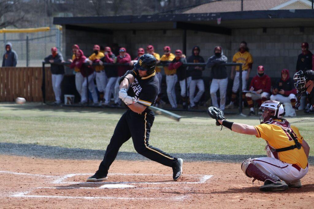 Wildcat Baseball Opens NSIC 2-1, Eight-Run Sixth Inning Comeback Sunday