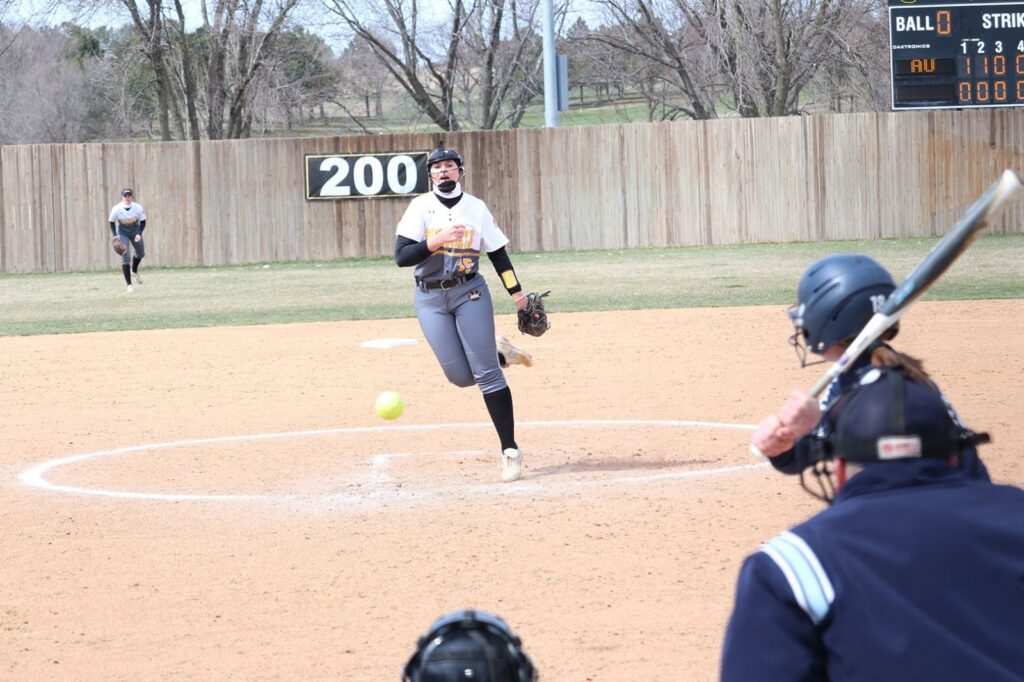 Wayne State Softball Limited To Four Hits In 6-0, 8-0 Losses To #3 Vikings