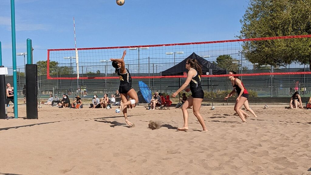 Wildcat Volleyball Secures Tuesday Beach Victories During Spring Trip