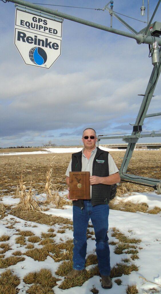 Wayne Grossenburg Implement Tabbed With Reinke Gold Pride Award