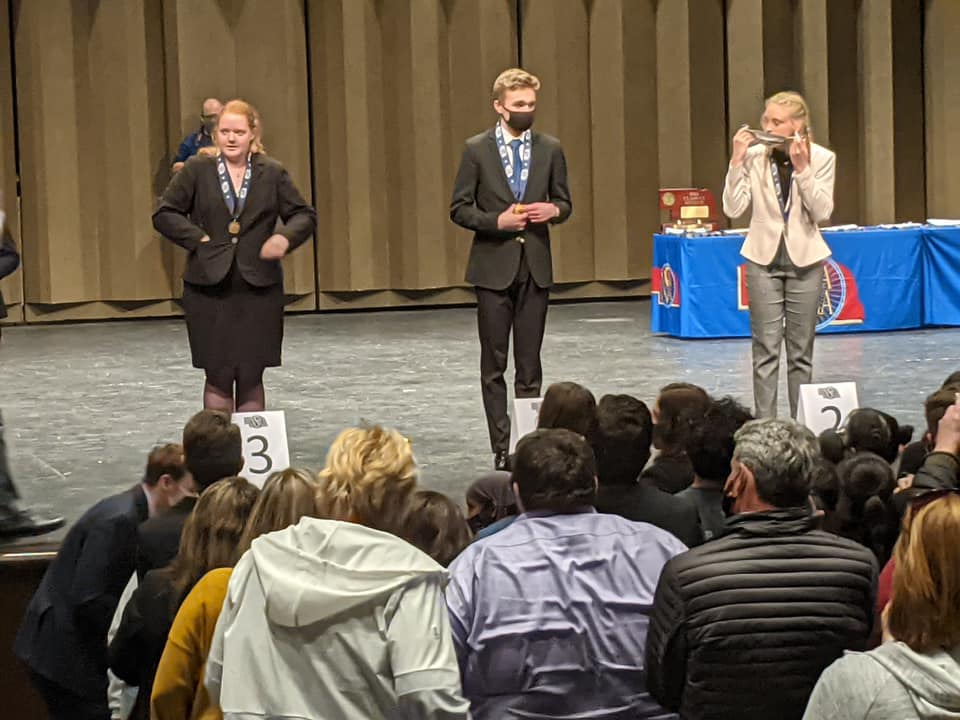 Blue Devil State Speech Results, Spieker Crowned State Champion In Entertainment