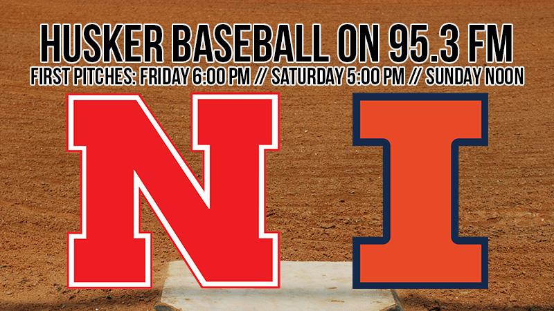 Nebraska Baseball Heads to Illinois