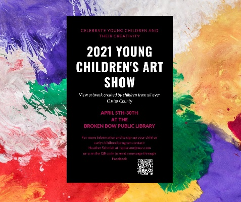 """Early Childhood Programs Celebrate """"Week of the Young Child"""" with Local Art Show"""
