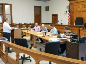 Commissioners Address Access Roads For Wind Project, Hear Updates On County-Wide Information