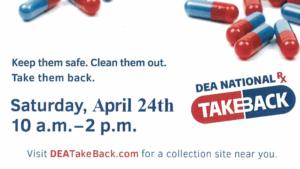 Drug Take Back Program April 24 In Broken Bow