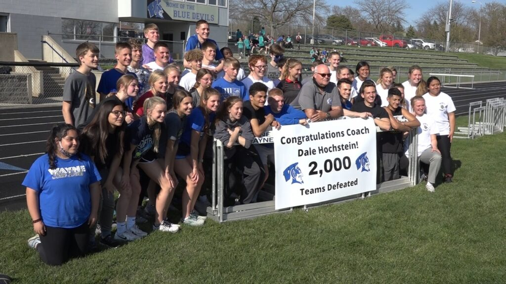 Hochstein Surpasses Track & Field Milestone, 2,000 Teams Defeated