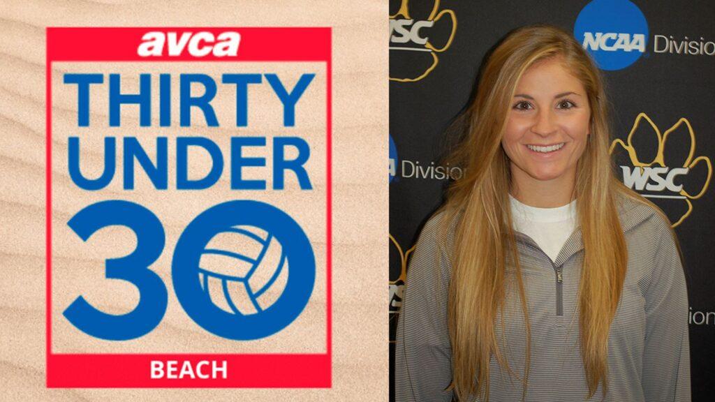 Morris Tabbed AVCA Thirty Under 30 Beach Coaching Award
