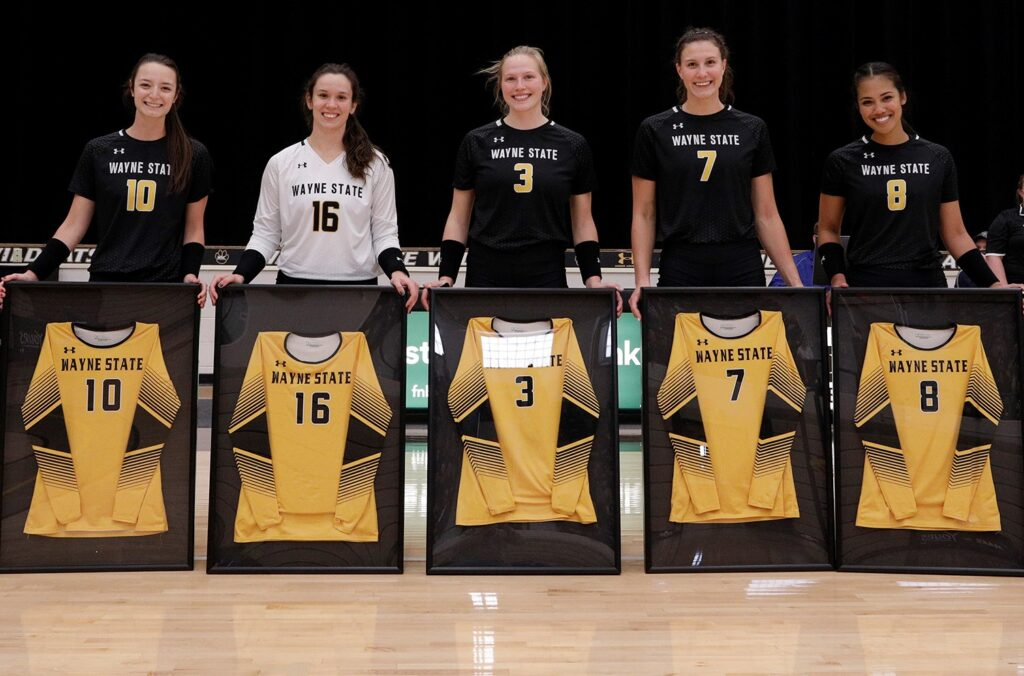 Wildcat Volleyball Team Hosts Mount Marty, Seniors Recognized