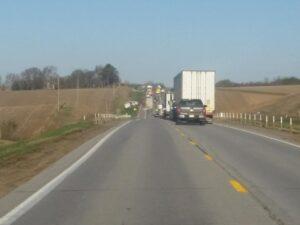 Monday Morning Accident Near Wayne